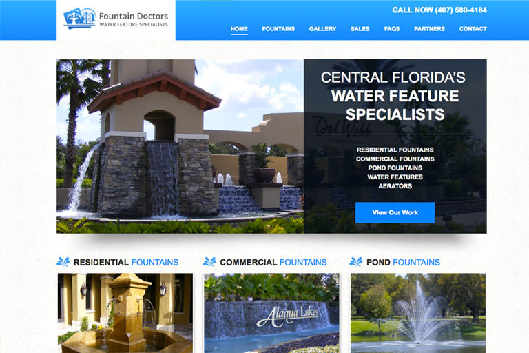 Fountain Doctors Web Site